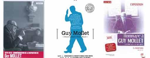 Il y a 40 ans disparaissait Guy Mollet, fondateur de l'OURS