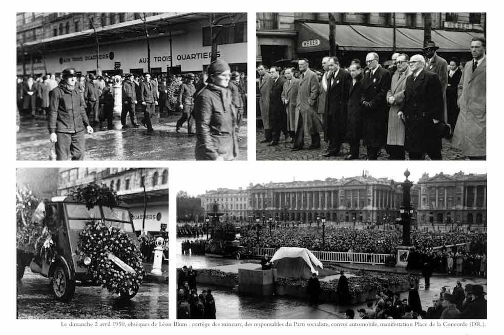 Dimanche 2 avril 1950 : Les obsèques de Léon Blum