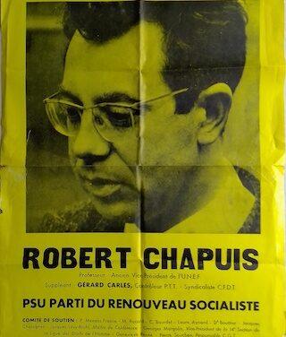 103 APO 1 à 132 : fonds Robert Chapuis, du PSU au PS