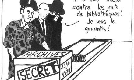 archives incommunicables : Quand un texte bloque la loi