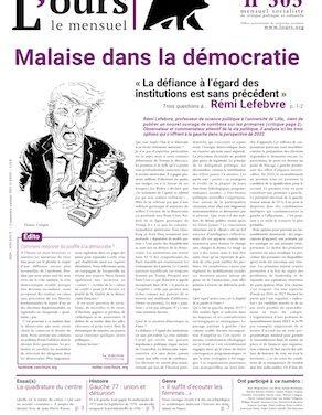 L'OURS 505, février 2021 : « Comment redonner du souffle à la démocratie ? » , sommaire
